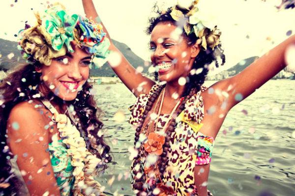 carnaval na praia do rosa