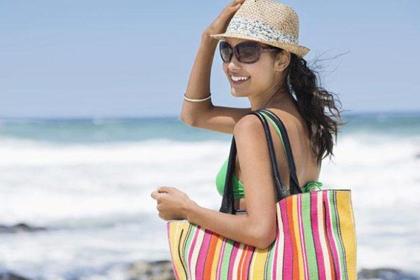 o quie levar na bolsa da praia